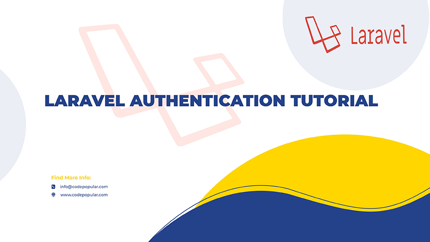 laravel 8 Authentication Tutorial Or Login System