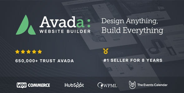Avada WordPress Thee | Free Website Template