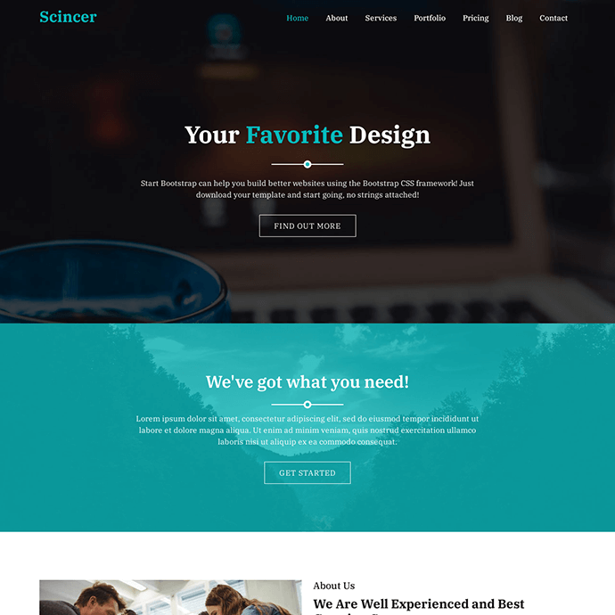 Bootstrap 5 Business Template | Free Website Template