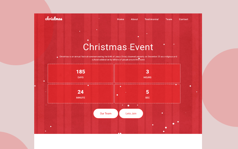 free-Christmas-website-template
