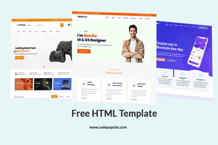 website template download