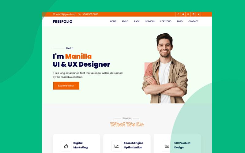 frefolio-agency-portfolo-html-template