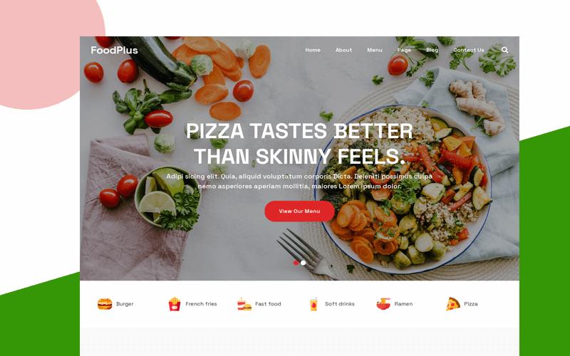 bootstrap restaurant template