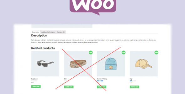 remove related product in woocommerce